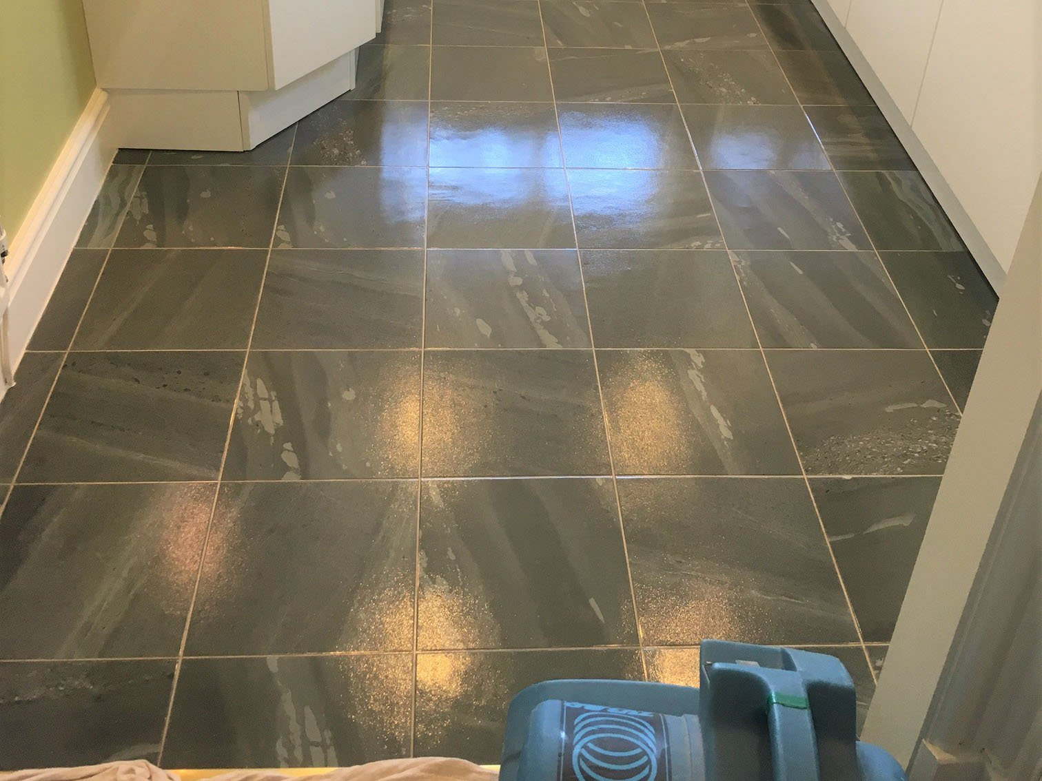 Amtico Kitchen Floor Cleaned and Sealed in Lancashire ...
